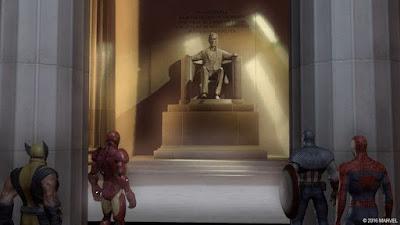 اختيارات في العبة الأبطال الخارقون The Marvel Universe