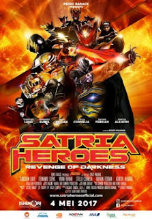 Download film Satria Heroes : Revenge Of Darkness (2017) Full Movie