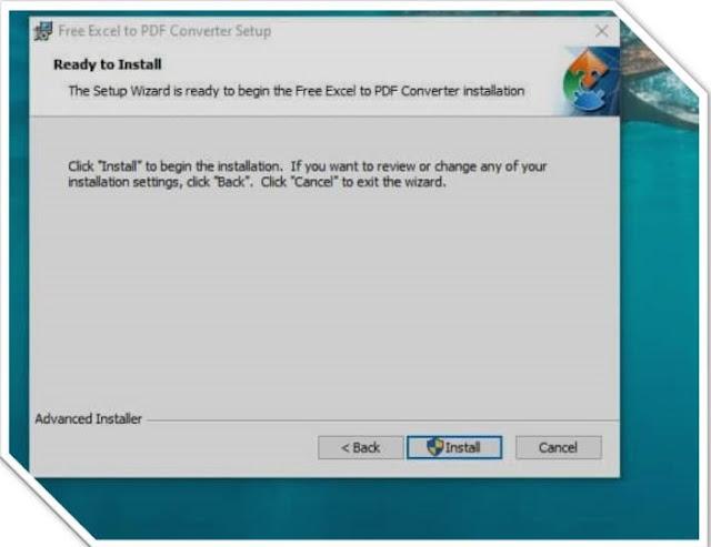 تحميل برنامج الإكسل إلى صيغة PDF مجانا برابط مباشر
