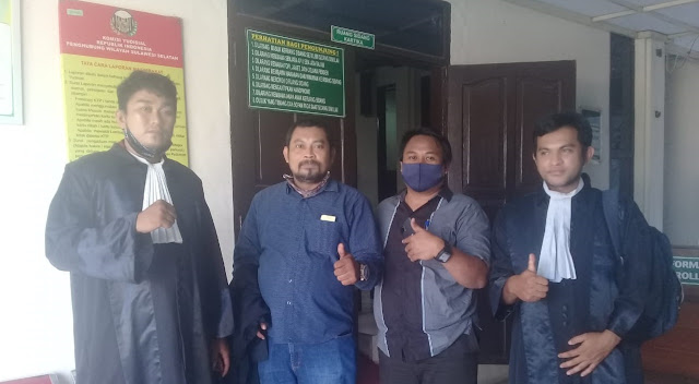 LKBH Makassar Kecewa Jaksa Tidak Dapat Hadirkan Saksi Korban di Persidangan Penganiayaan