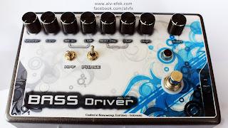 Efek Untuk Bass Gitar ALV Bass Driver
