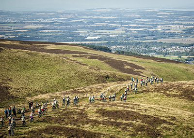 Red Bull Fox Hunt saw 150 women race down Caerketton Hill and stay ahead of Rachel Atherton