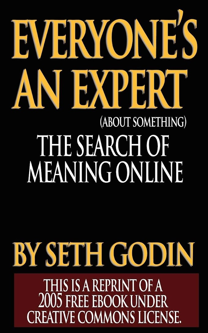 Everyone Is An Expert by Seth Godin FREE Ebook Download