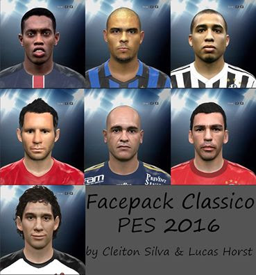 Facepack Classico Pes 2016 By Cleiton Silva & Lucas Horst