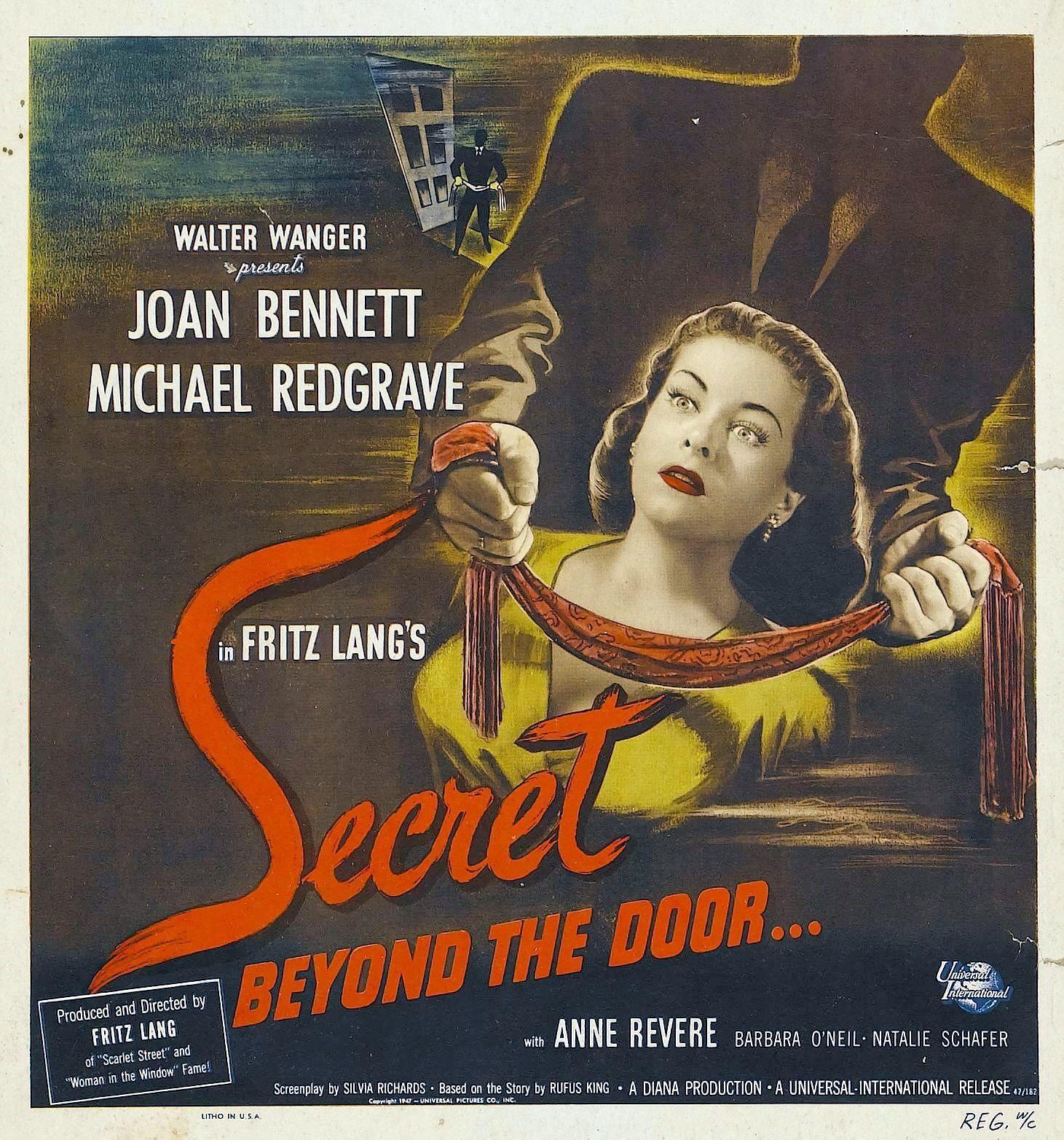Secret Beyond The Door.Film Noir Of The Week Secret Beyond The Door 1947
