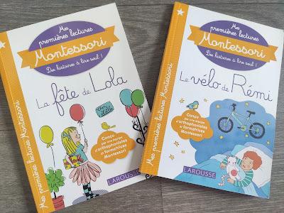 premières lectures montessori larousse livre maternelle cp