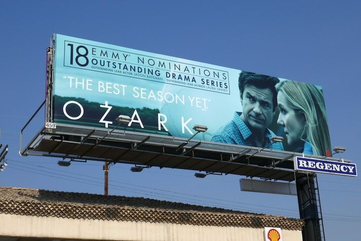 Ozark 18 Emmy nominations s3 billboard