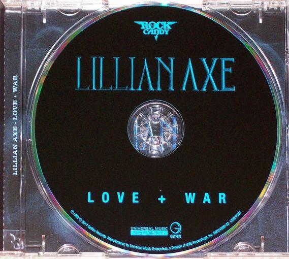 LILLIAN AXE - Love + War [Rock Candy remastered] (2017) disc