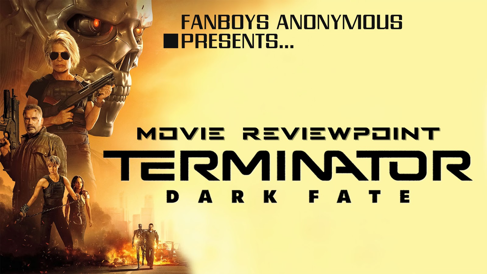 movie review Terminator: Dark Fate podcast