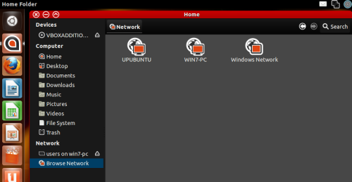 How To Enable File Sharing Between Windows 7 (Host) and Ubuntu