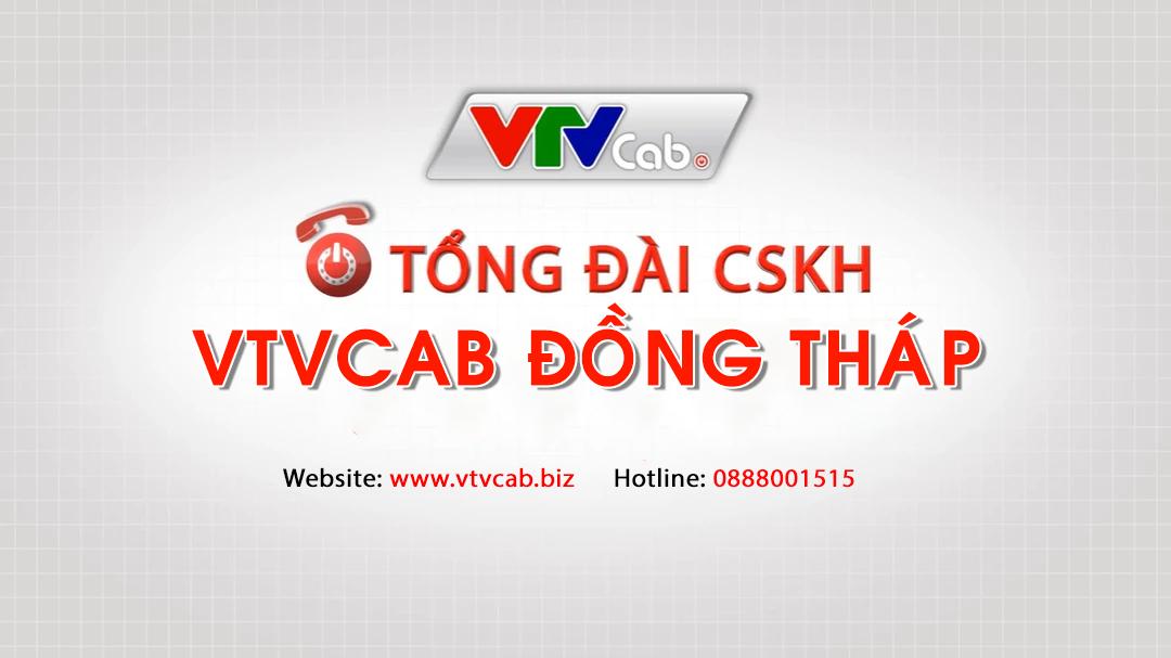 Tổng đài VTVcab ở Đồng Tháp