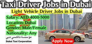 Taxi Drivers (900 Nos) With Own Country License Job Recruitment in Dubai & Abu Dhabi Locations for Reputed Taxi Company