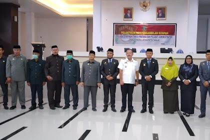 Empat pimpinan Tinggi Pratama dilantik Bupati Takalar hari ini