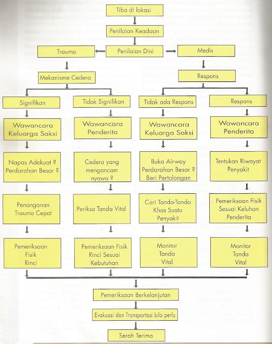 Diagram Alir Penilaian Penderita