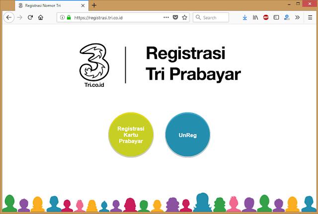 Cara Membatalkan Registrasi Kartu Tri