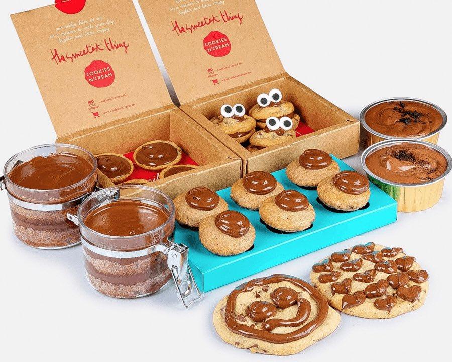أسعار منيو ورقم وعنوان فروع كوكيز اند كريم Cookies N Cream