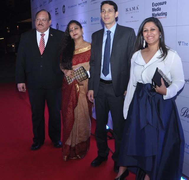 Minister Eduardo Martinez Curiel, Sushmita Gupta, Mr. Hassan Maddah- Ministry of Israel, Ruchira Bose
