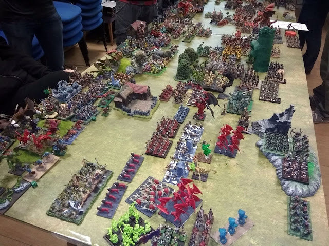 Oldhammer.es >> Megabatalla Kings of War - Bien VS Mal - KOW 2019