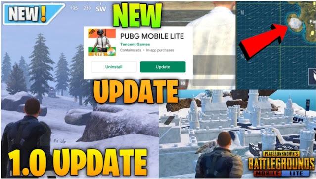 PUBG Mobile Lite 1.0.0 (0.20.0) Update Winter Festival Theme Leaks Out