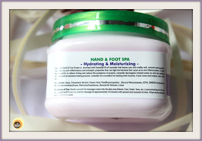 SSCPL HERBALS LAVENDER HAND & FOOT MASSAGE CREAM REVIEW