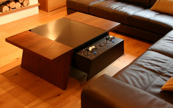 Double7 Arcade Table By Surface Tension