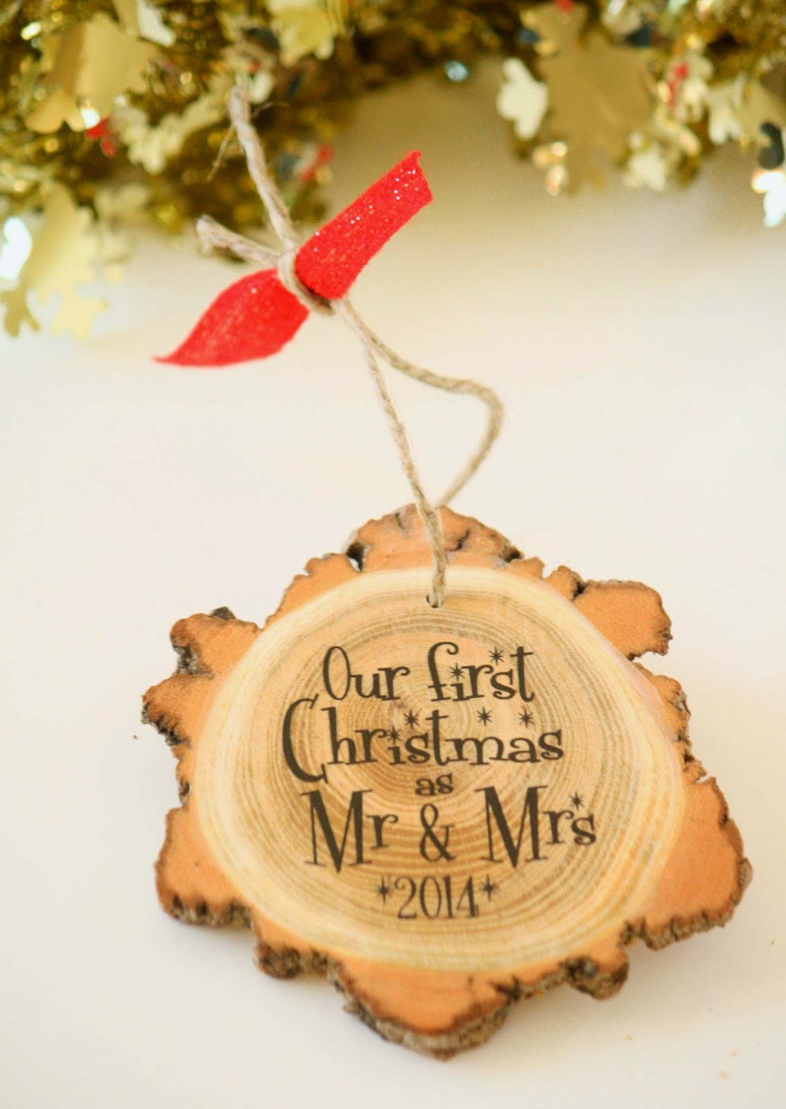 Our First Christmas as Mr & Mrs - NEW Modern Christmas ...