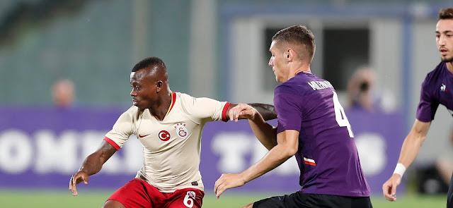 Galatasaray, Fiorentina'ya farklı yenildi!