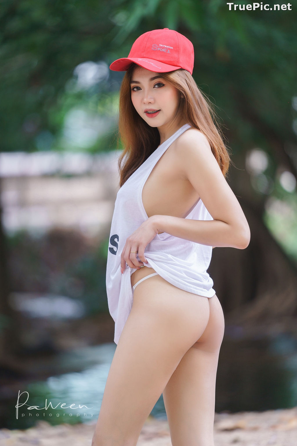 Image Thailand Model - Sirirut Thananet - Beautiful Angel and Small Stream - TruePic.net - Picture-25