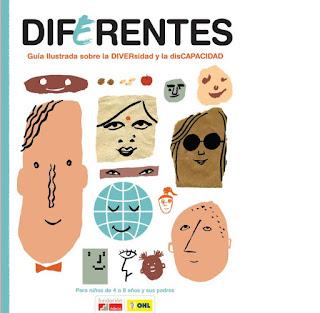 La portada está compuesta por las distintas ilustraciones de Miguel Gallardo que componen la guía aquí se ven caras diferentes