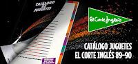Catálogo juguetes El Corte Inglés 1989