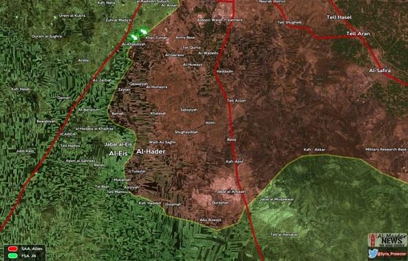 Operasi Terbaru Jaisyul Fath di Aleppo