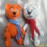 patrones gratis tigres amigurumi | free amigurumi patterns tigers