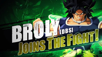 Trailer de Broly (DBS) en Dragon Ball FighterZ.
