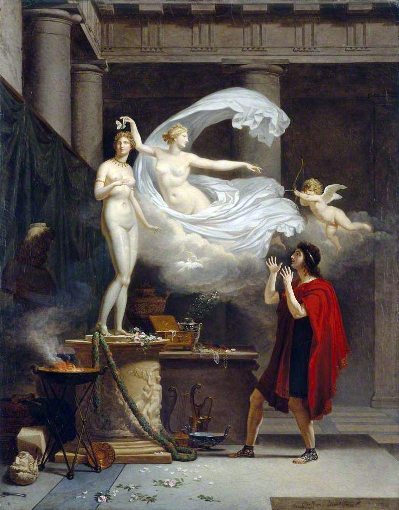 «Пігмаліон і Галатея» Луї Гоф'є (Louis Gauffier), 1797