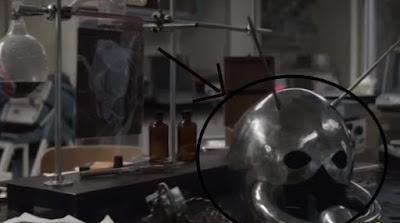 Amazing Marvel (MCU) Facts: Comic helmet of AntMan
