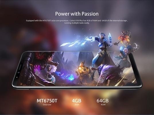 Купить смартфон Cubot X18 Plus
