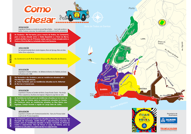 Consulta ao credenciamento de trânsito no carnaval 2017 para moradores, foliões e prestadores de serviço