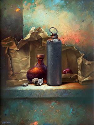 bodegones-objetos-antiguos-silencio-y-observacion pinturas-bodegones-realistas