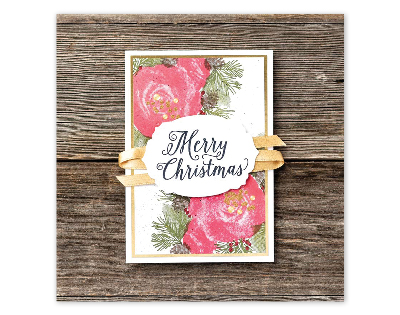 Christmastime is here Stampin Up