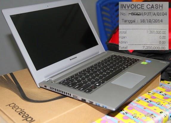 jual Lenovo Z410