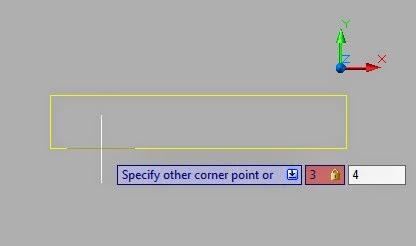 Cara Membuat Kotak dengan Rectangle Ukuran Sesuai Keinginan AutoCAD
