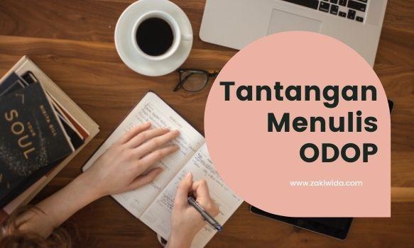 Tantangan Menulis ODOP