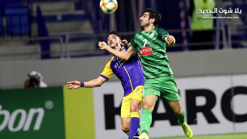 النصر السعودي يعود بنتيجة التعادل السلبي من امام ذوب آهن في دوري أبطال آسيا