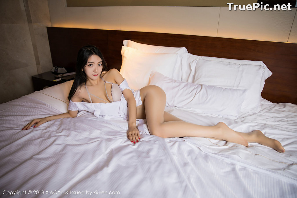 Image XiaoYu No.004 - Chinese Model - Xiao Reba (Angela喜欢猫) - White Sexy Nurse - TruePic.net - Picture-52