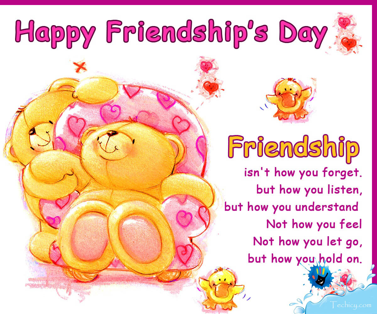 Latest Collection Happy Friendship Day Wishes Greeting Cards 2018