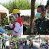 Dandim 0824/Jember Motivasi Petugas Pos Covid 19 Perbatasan  Di Sukowono