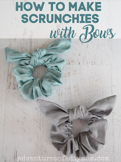 scrunchies with bows