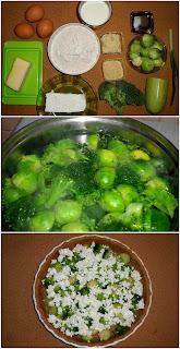 Рецепта за пълнозърнест киш с брюкселско зеле и бадеми