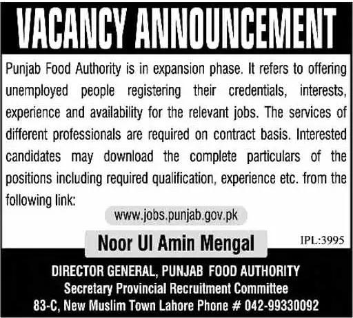 jobs.punjab.gov.pk