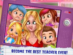 Game My Teacher Classroom Play Apk